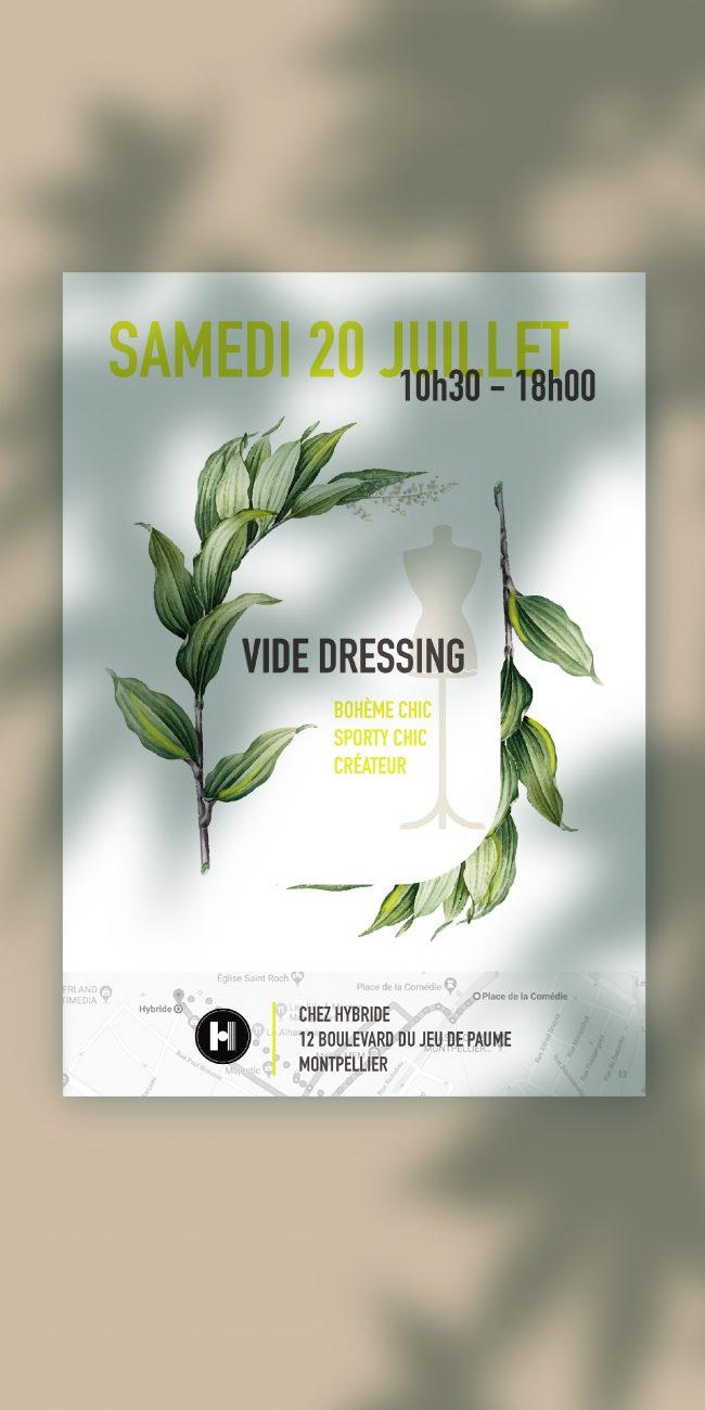 flyer vide dressing
